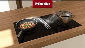 Plaque Induction Avec Hotte Intégrée Miele : table cuisson 2en1 avec hotte int gr e youtube ~ Voncanada.com Idées de Décoration