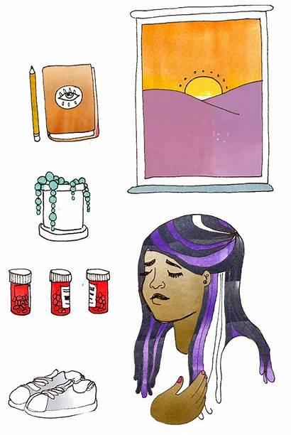 Chronic Illness Illustration Rookie Leanna