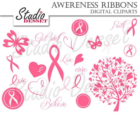 butterfly  cancer ribbon clipart clipground