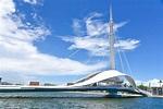 【亞洲最長】台灣首座可旋轉行人跨港大橋:高雄大港橋啟用 | 台灣英文新聞