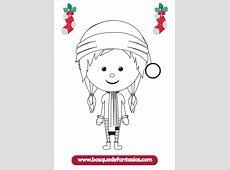 Dibujos para colorear de Navidad Cuadernillo fácil de