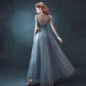 2016 new arrival luxury elegant chiffon half sleeves With custom wedding dress designers