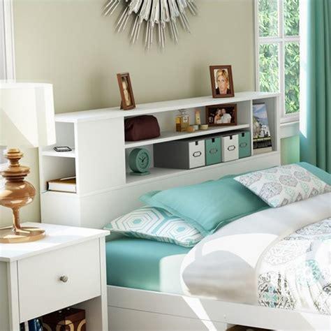 white queen bookcase headboard breakwater full queen bookcase headboard in pure white