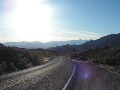 highway  desert valley california highway