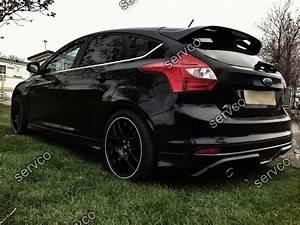 Ford Focus Mk3 Tuning : prelungire fusta spoiler difuzor bara spate tuning sport ~ Jslefanu.com Haus und Dekorationen