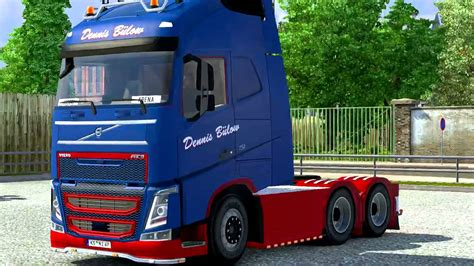 volvo trucks holland volvo fh16 2012 danish holland style v1 0 ets 2