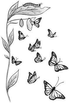 A titan on orange wings - The Boston Globe | Monarch butterfly tattoo, Butterfly drawing