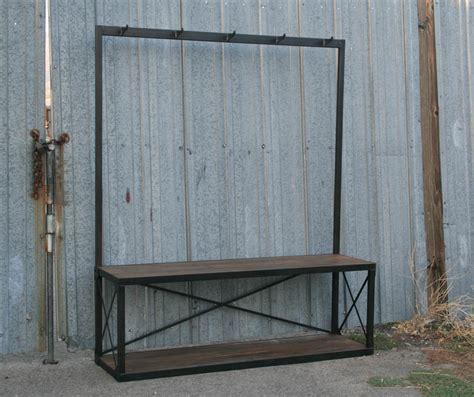 Combine 9  Industrial Furniture  Industrial Coat Rack