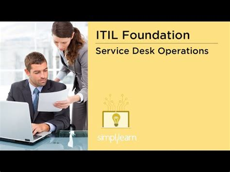 help desk online training itil service desk it operations control itil tutorial