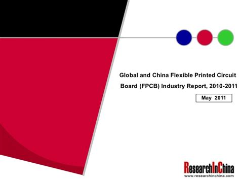 Global China Flexible Printed Circuit Board Fpcb