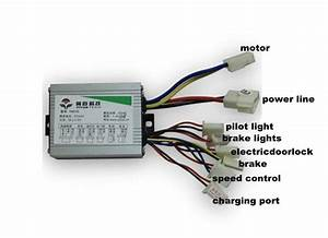 Free Shipping 500w 36v Dc Brush Motor Controller E Bike