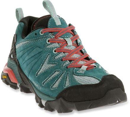 merrell capra leather wp  hiking shoes womens rei