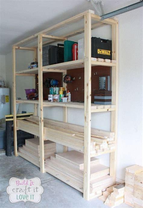 Easy Diy Garage Shelving! Hometalk