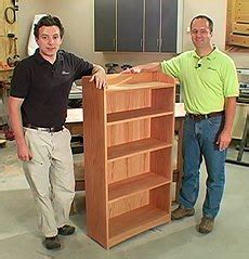 diy fine woodworking bookcase plans  easy build