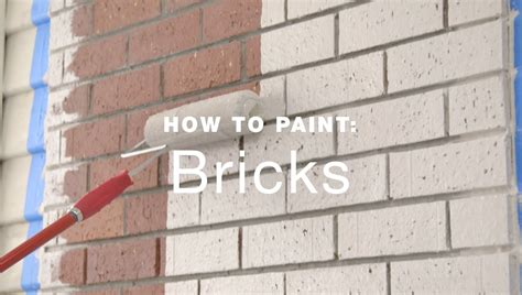 how to paint bricks on a wall how to paint exterior brick walls youtube