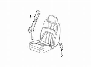 Gmc Envoy Seat Belt Lap And Shoulder Belt  Gray