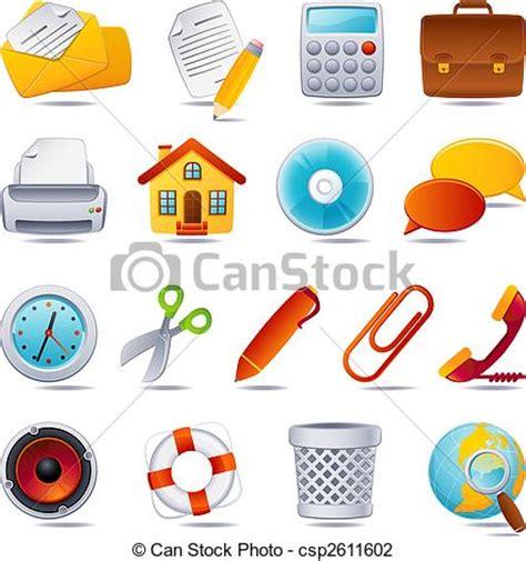illustration vecteur de bureau icône vecteur