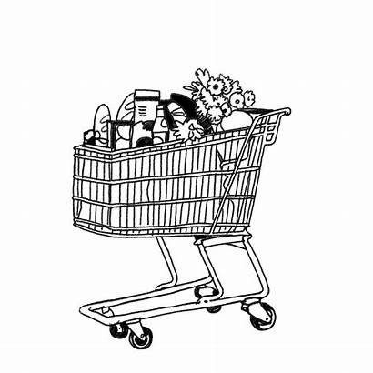 Trolley Shopping Shopper Street Cart Things Experience