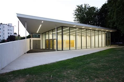 salle des fetes reims pavillon bei pultdach unter b 228 umen architektur und architekten news meldungen
