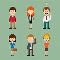 30+ Free Download Vector PSD People Avatars Set | Free ...