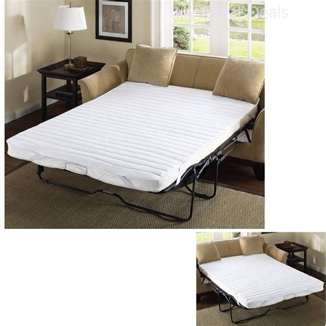 futon mattress pad pull out sofa bed mattress pad bedding size