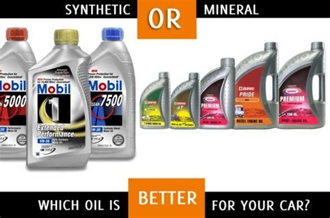 Synthetic Oil Vs. Mineral Oil, Which Is Better