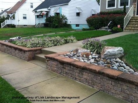 landscape retaining wall cost front yard landscape designs with before and after pictures retaining walls front yards and yards
