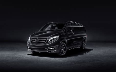 Mercedes V Class 4k Wallpapers 2016 larte design mercedes v class black