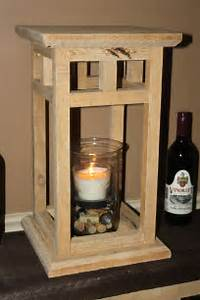 The DIY Rustic Wood Lantern Project - Made From Pallets!