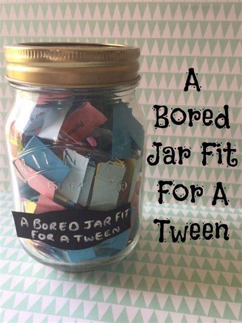 printable  bored jar fit   tween crafts