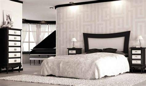 chambre a coucher en noir et blanc chambre à coucher complète 45 designs modernes