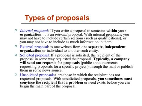 Project Proposals Examples