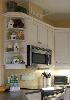 curved corner cabinet kitchen shelf decor