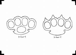brass knuckles template 28 images brass knuckle With brass knuckles template