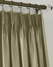 Pinch Pleat Curtains Online by Marquee Faux Silk Pinch Pleat Drapery Curtainworks Com