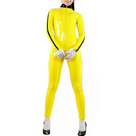 womens yellow jumpsuit black and yellow jumpsuit fashion ql