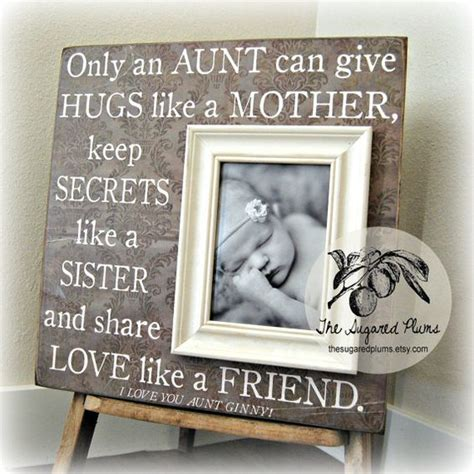 aunt gifts aunt and personalized picture frames on pinterest