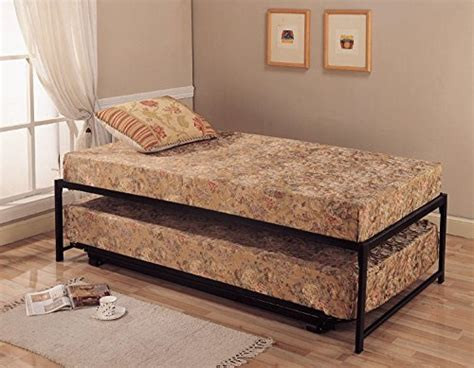 Twin Size Steel Day Bed (daybed) Frame With Pop Up Trundle Small Log Cabin Floor Plans Ashford Royale Plan Free Online Builder Homes Mall Residential Software Cedar Of House In India