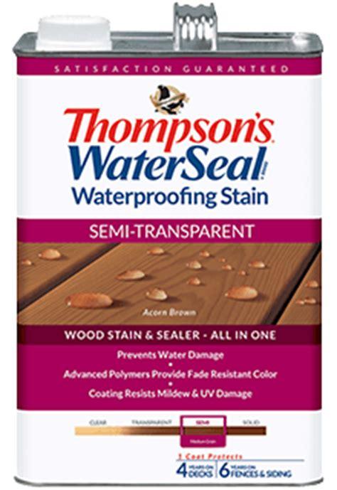 thompsons waterseal semi transparent waterproofing stain