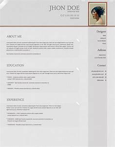 SoftWarm PSD Resume Template ← Open Resume Templates