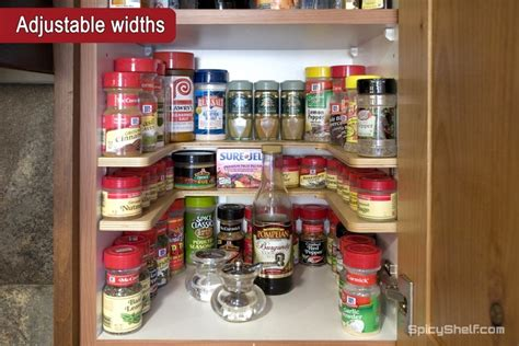 How To Organize Spices In Cupboard by Organize Your Kitchen Spicy Shelf Review And Giveaway