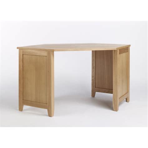 oak bureau desk compton solid oak furniture corner office pc computer desk