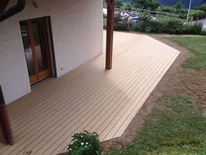 Bois Composite Pour Terrasse : image terrasse bois composite diverses ~ Edinachiropracticcenter.com Idées de Décoration