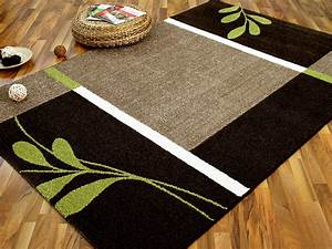 Teppich Braun Grün : designer teppich softstar country gr n braun blumen ebay ~ Whattoseeinmadrid.com Haus und Dekorationen