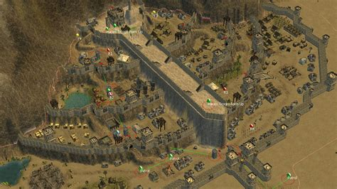 the siege stronghold crusader 2 the siege of minas tirith