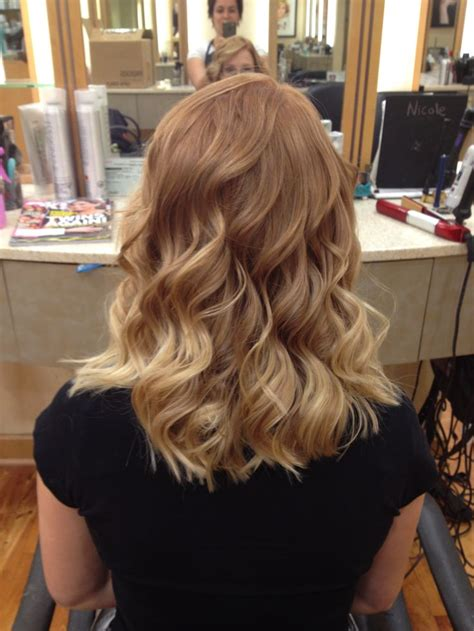 strawberry blonde  blonde ombre hair beauty