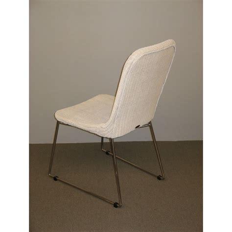 chaise loom chaise salsa en loom et rotin coloris blanc