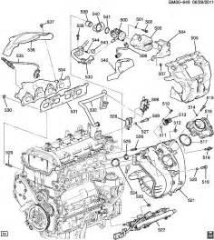 2010-2012 Chevy Equinox GMC Terrain 2 4L Heat Shield
