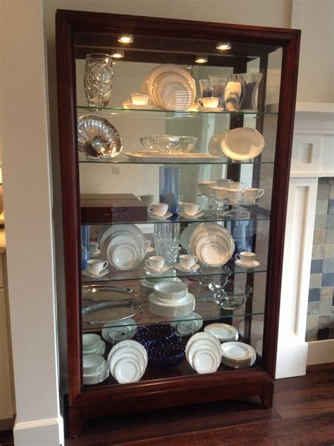 how to decorate a china cabinet 15 best images about china cabinet display on pinterest