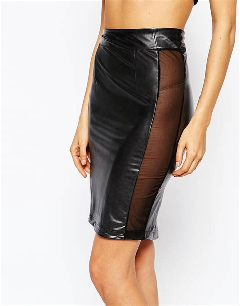 maison chambre des secrets skirt in black lyst